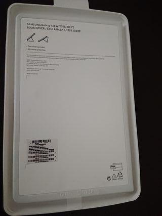 "Funda tablet Galaxy Tab A 2018, 10,5"" negra"