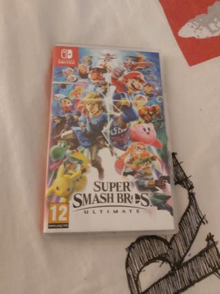 Jeu switch : Super Smash Bros Ultimate