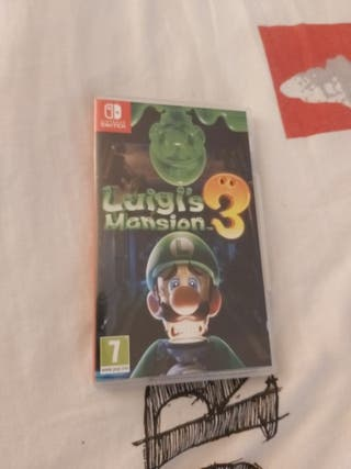 Jeu switch : Luigi's Mansion 3