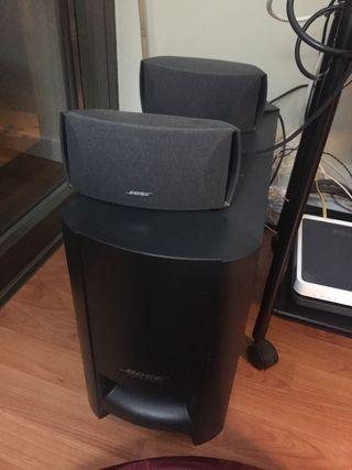 Altavoces de música Bose y equipo opcional