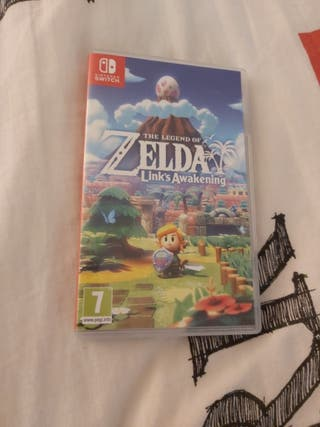 Jeu switch : Zelda Links Awakening