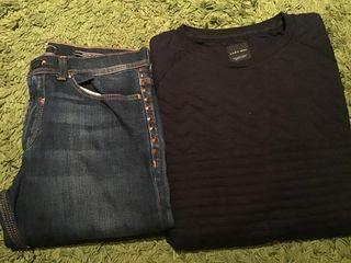 Pantalón y sudadera