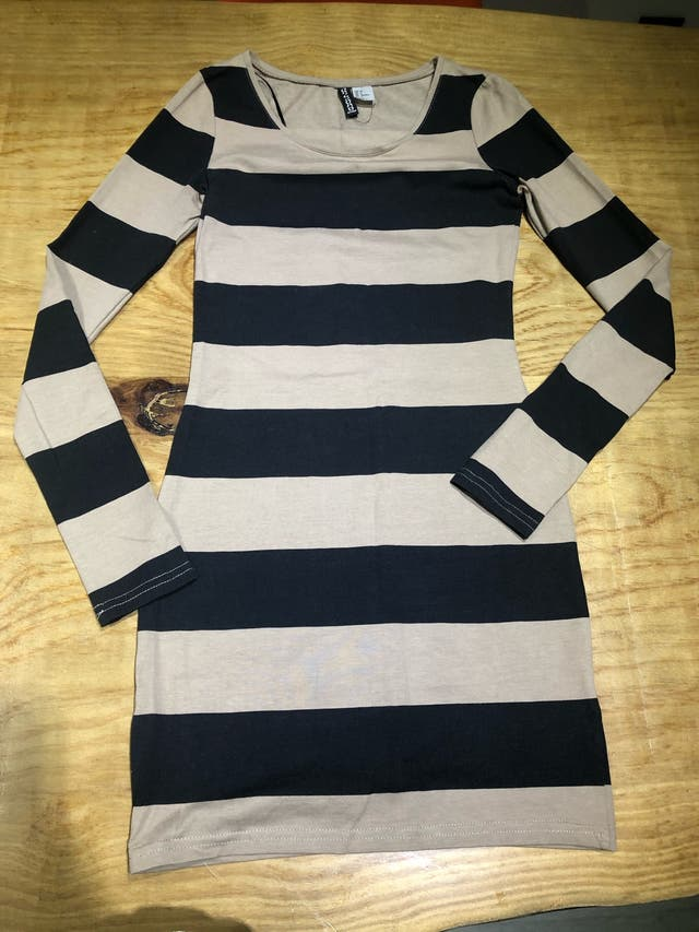 Talla 34 vestido de algodón mujer joven H&M
