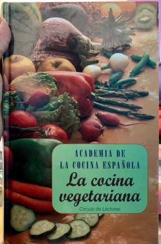 Libro la cocina vegetariana.