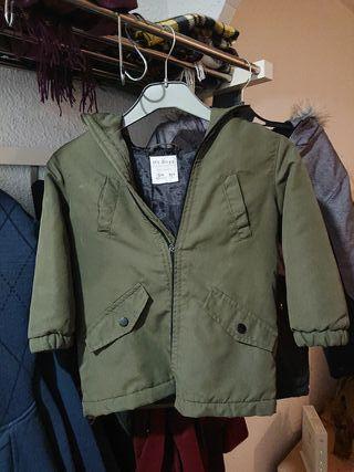 Chaqueta anorak abrigo niño niña 4 años 104 cm