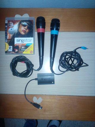 micrófonos play 3 y 2