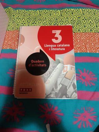 Libro de texto - Llengua Catalana i literatura.