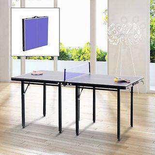 Mesa plegable de ping pong con red