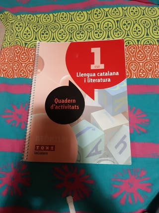 Libro de texto - lengua catalana i literatura.