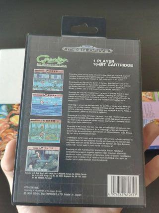juego greendog de consola sega mega Drive