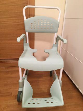 Silla de ducha y WC + Grúa Bip.+ Silla de ruedas
