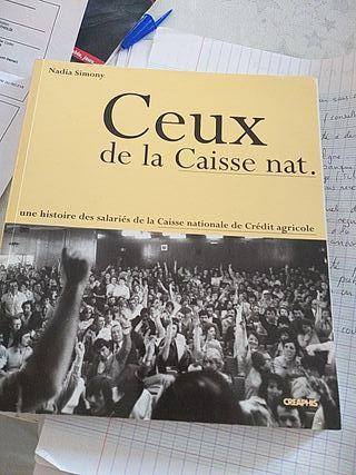 Livre Ceux De La Caisse Nat.