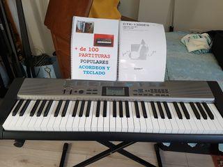 PIANO TECLADO CASIO CTK 1300 ES