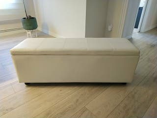 baúl polipiel blanco