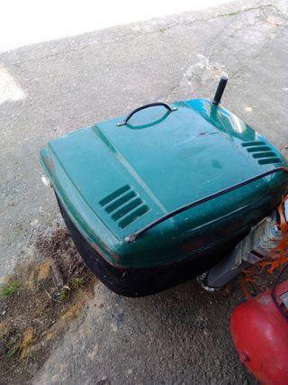 cesto de tractor cortacesped mtd
