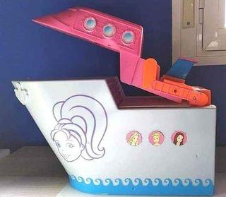 casa barco de Polly Pocket