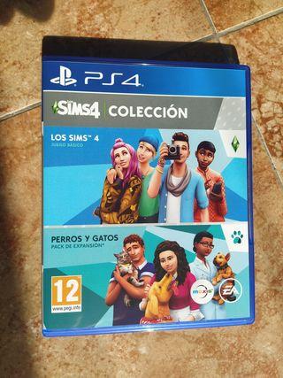 Juego PS4 Los Sims 4 + Expansión Perros Y Gatos