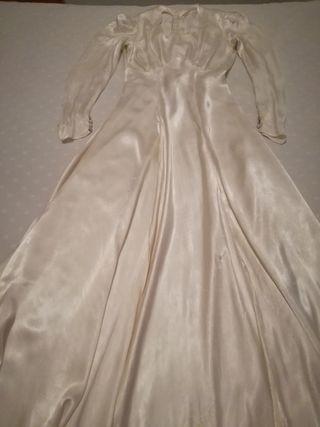 Vestido novia antiguo