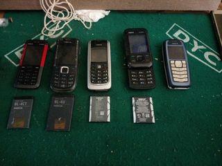 pack teléfonos 5 nokia