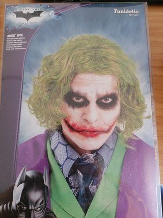 peluca Joker sin usar