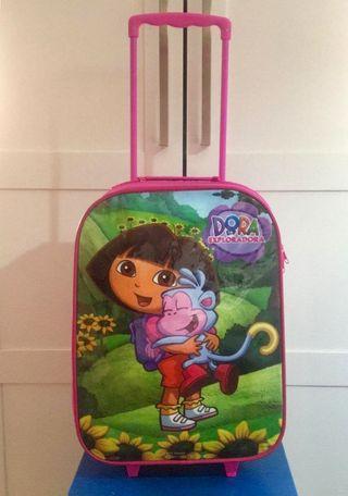 TROLLEY DE VIAJE INFANTIL DORA LA EXPLORADORA