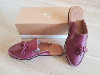 Zapato mule popa
