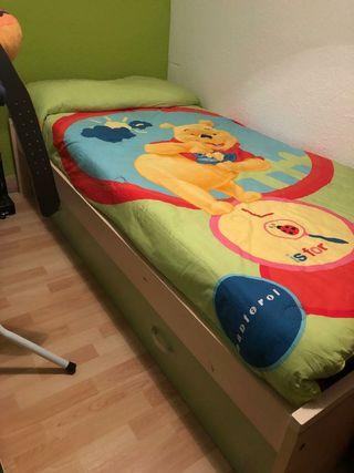 Punte nido dos camas