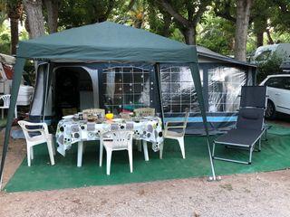Caravana Roller Portofino 6 plazas alquiler