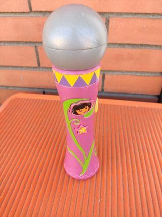 Altavoz micrófono Dora Exploradora