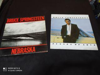 lote 2 vinilos Bruce Springsteen