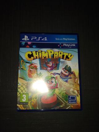 Juego Chimparty PS4