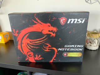 Portatil Gamer MSI GL62VR 7RFX