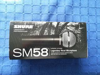 Micrófono Shure Profesional SM58