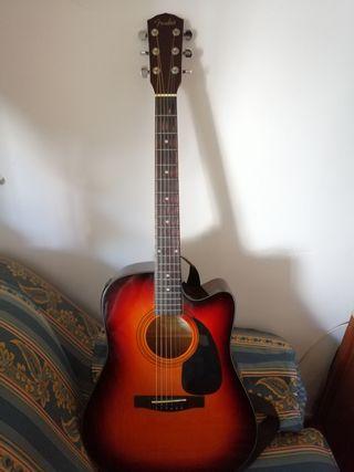 guitarra electroacustica Fender (contemplo cambio)