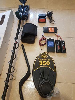 detector de metales Whites TDI , de pulso.