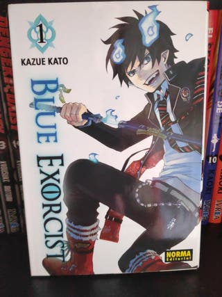 Manga Blue Exorcist (Ao no exorcist) 1