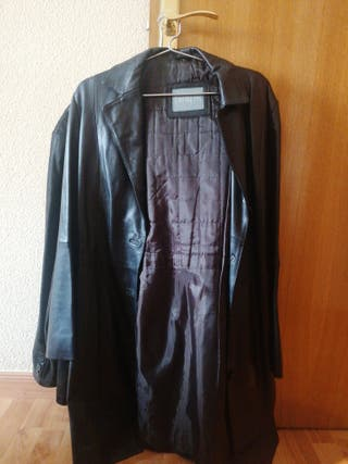 chaqueta de cuero de mujer