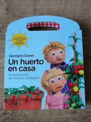Un huerto en casa (libro infantil)