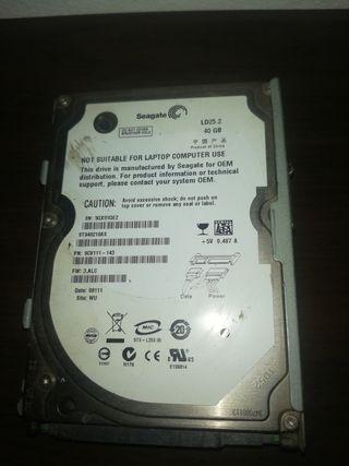 disco duro de pley 3 de 40 gb
