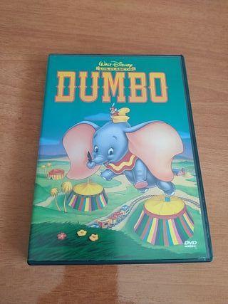 DVD DUMBO PRIMERA EDICIÓN. COMO NUEVO