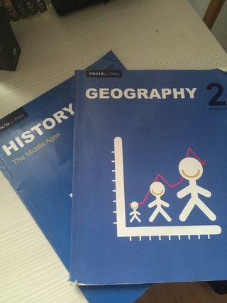 Libros geografia e historia 2 eso