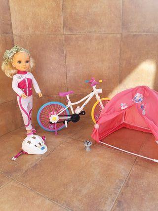 Nancy camping bike