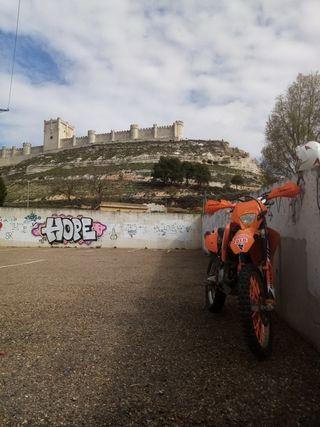 Motos Ktm Exc de segunda mano en Valladolid en WALLAPOP