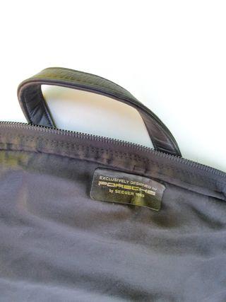 Conjunto de maletas de viaje de piel PORSCHE