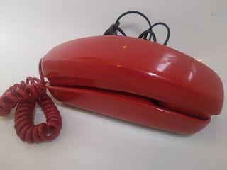 Teléfono antiguo rojo góndola(como nuevo)