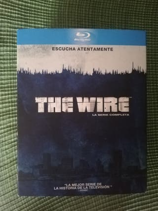 "Coleccion blu ray completa ""The Wire"""