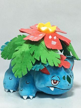 Peluche MEGA VENUSAUR Gigante 30cm pokemon digimon