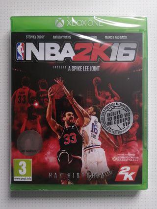 Precintado NBA 2K16 Xbox One