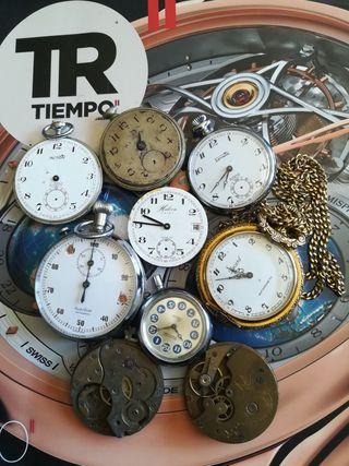 lote de reloj bolsillo