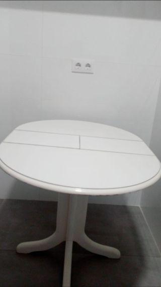 Mesa redonda extensible